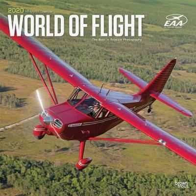 Airplanes, World of Flight EAA 2020 Square Wall Calendar