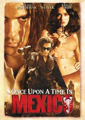 Once Upon A Time In Mexico on DVD