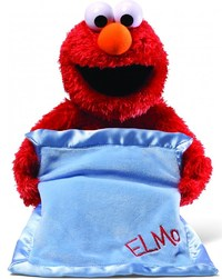 Elmo Peek-A-Boo Plush