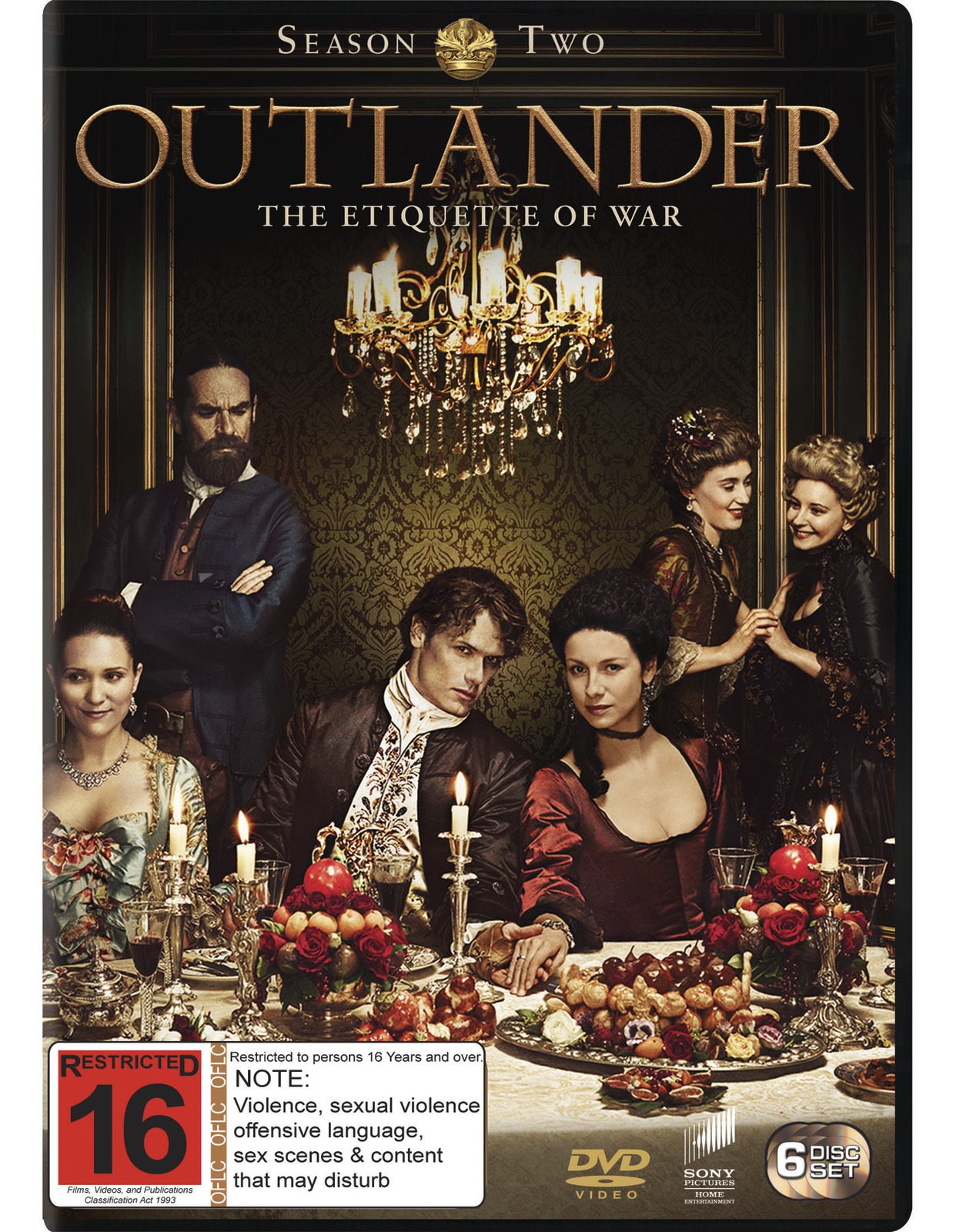 Outlander - The Complete Second Season DVD image