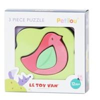 Le Toy Van: Petilou - Birdy Birdy 3 Piece Puzzle image
