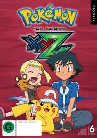 Pokemon The Series: XYZ Complete Collection (6 Disc Set) DVD
