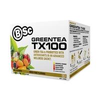 BSc Green Tea TX100 Mixed Fruit Flavours - 100 Serve