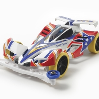 Tamiya: Mini 4WD Fighter Magnum VFX Prem (S-II) - Scale Model