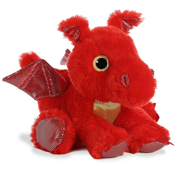 Aurora: Sparkle Tales - Sizzle Red Dragon (30cm)
