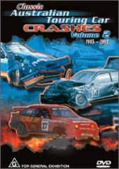 Classic Australian Touring Car Crashes - Volume 2 on DVD