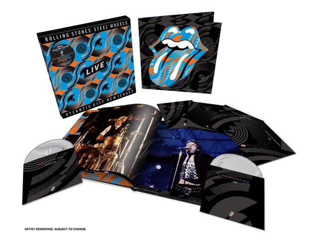 Steel Wheels Live - Limited Edition 6-Disc Set by The Rolling Stones