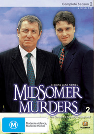 Midsomer Murders - Complete Season 2 (Single Case ) on DVD