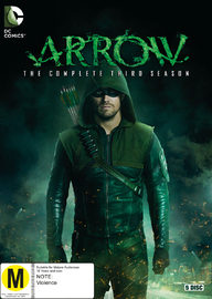 Arrow - The Complete Third Series on DVD