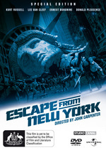 Escape From New York - Special Edition on DVD