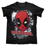 Marvel Deadpool Face T-Shirt (XX-Large)