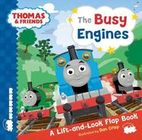 Thomas & Friends Busy Engines Lift-the-Flap Book by Egmont Publishing UK