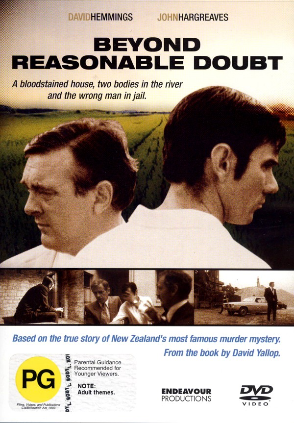 Beyond Reasonable Doubt on DVD image