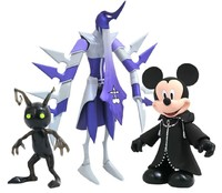 Kingdom Hearts: Select Action 3-Pack - Mickey/Nobody/Heartless