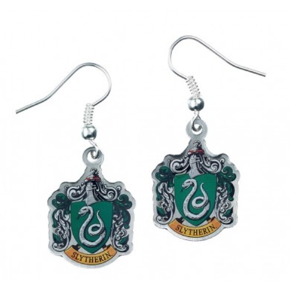 Harry Potter: Slytherin Crest Earrings