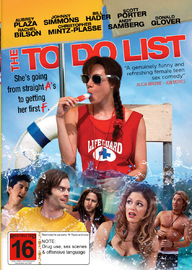 The To Do List on DVD