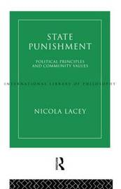 State Punishment by Nicola Lacey