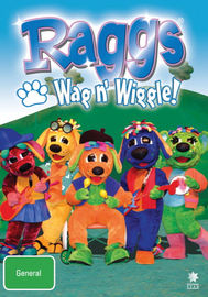 Raggs - Wag N' Wiggle! on DVD image