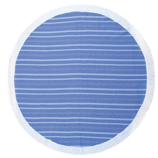 Bambury Express Round Towel (Horizon Ultramarine)