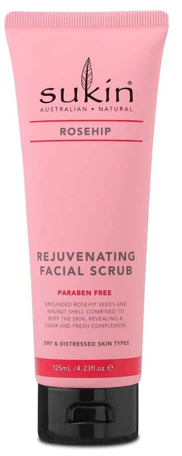 Sukin Rosehip Rejuvenating Facial Scrub (125ml) image