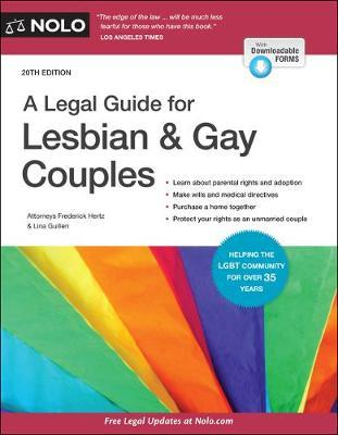 A Legal Guide for Lesbian & Gay Couples by Frederick Hertz
