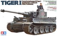 Tamiya German Tiger I Early Production 1:35 Model Kit