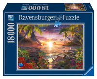 Ravensburger 18000 Piece Jigsaw Puzzle - Heavenly Sunset