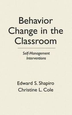Behavior Change In The Classroom by E.S. Shapiro image