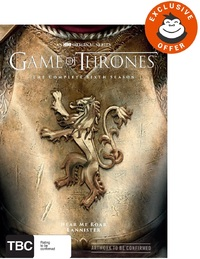 Game of Thrones - The Complete Season Six (Mighty Ape Exclusive) DVD