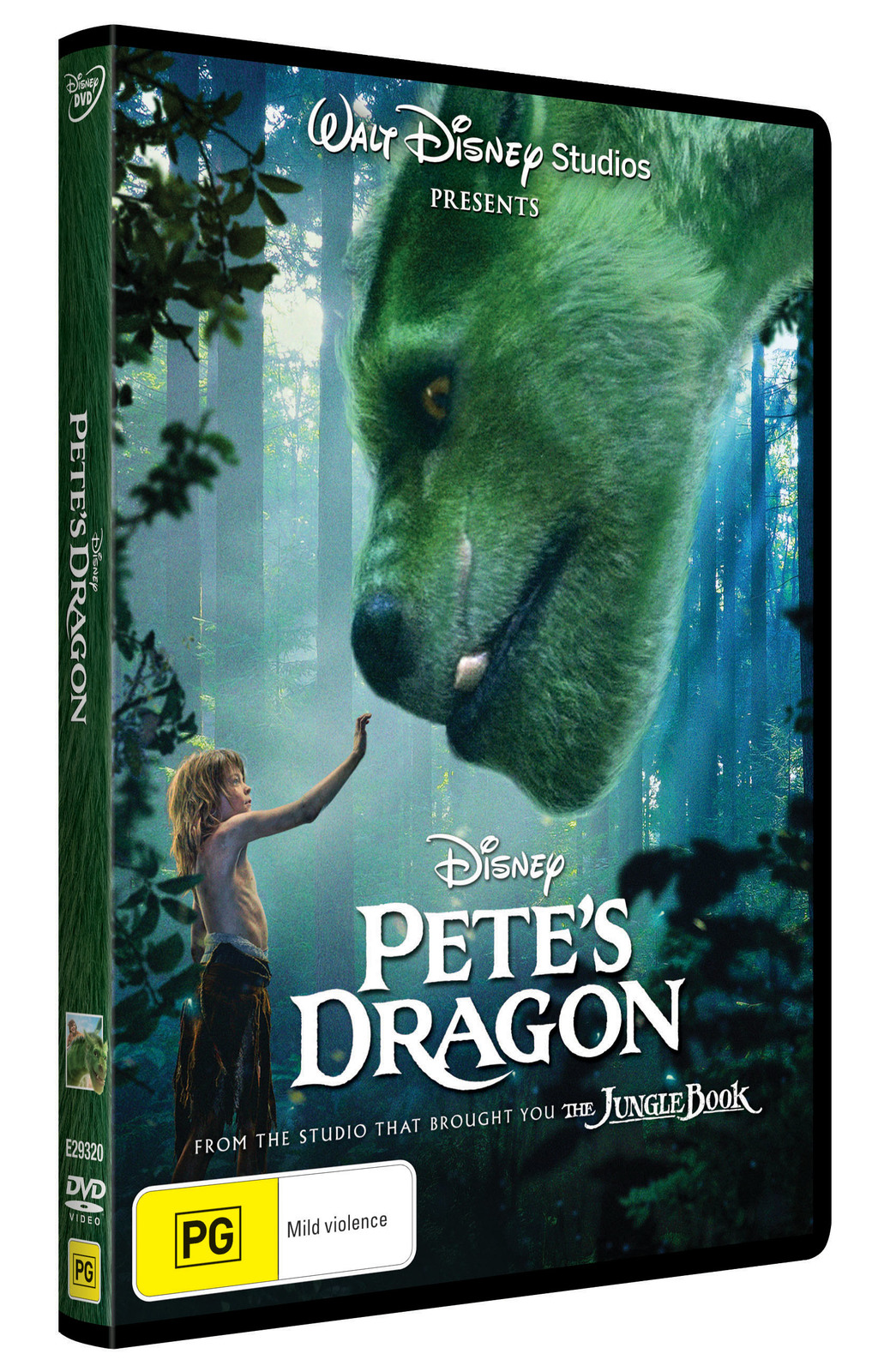 Pete's Dragon on DVD image