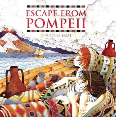 Escape from Pompeii by Christina Balit image