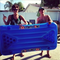 BigMouth Pool Party Pong Float image