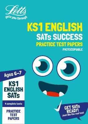 KS1 English SATs Practice Test Papers (photocopiable edition) by Letts KS1 image