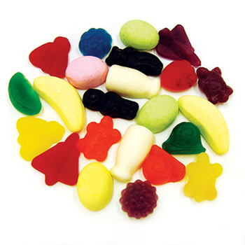 Rainbow Confectionery Party Mix Lollies Bulk Bag 1kg image