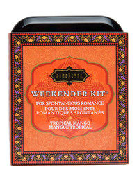 Kama Sutra Sensual Weekender Kit - Tropical Mango