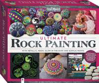 Hinkler: Craftmaker - Ultimate Rock Painting Kit image