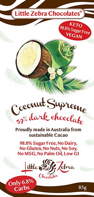 Little Zebra Chocolates: Coconut Supreme
