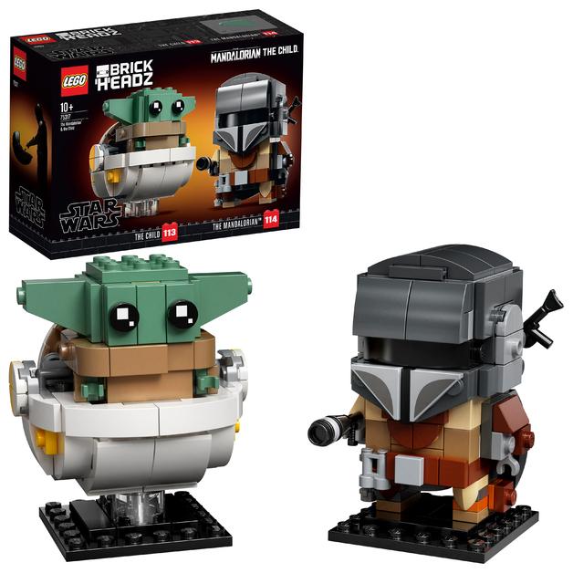LEGO Brickheadz - The Mandalorian & The Child (75317)