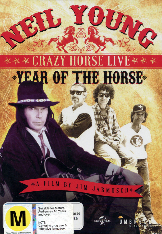 Year of the Horse on DVD