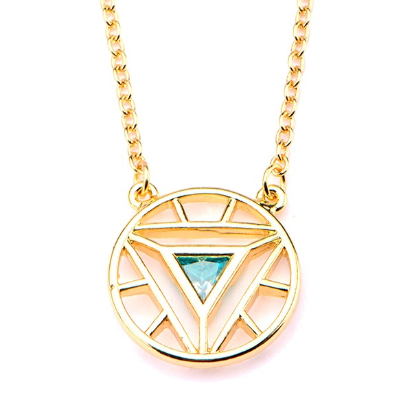 Marvel Stainless Steel Iron Man Arc Reactor Necklace