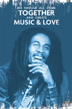 Bob Marley - Music & Love Maxi Poster (545)