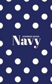 Address Book Navy by Journals R Us