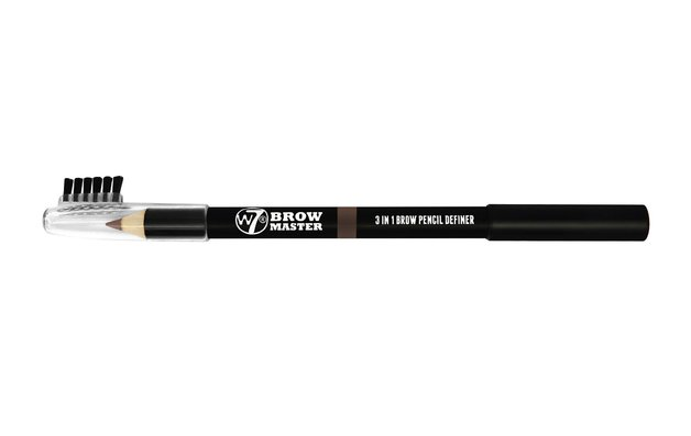 W7 Brow Master 3 in 1 Brow Pencil Definer (Brown)