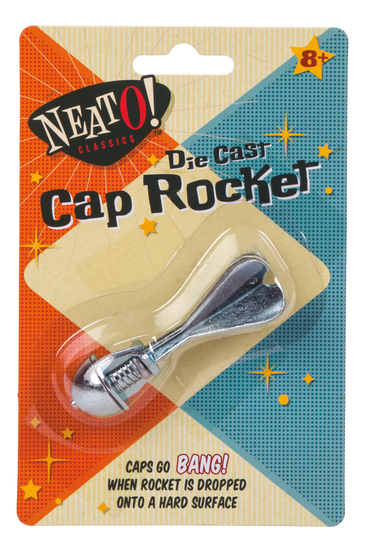 Die Cast Cap Rocket image