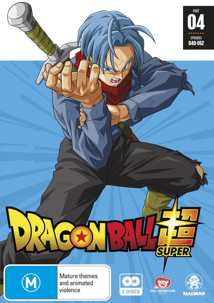 Dragon Ball Super Part 4 (eps 40-52) on DVD image