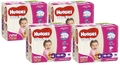 Huggies Ultra Dry Nappies Convenience Value Box - Size 4 Toddler Girl (72)
