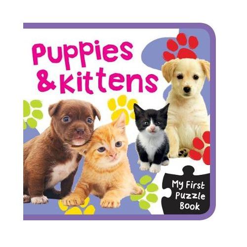 EVA Mini Puzzle Book Puppies & Kittens