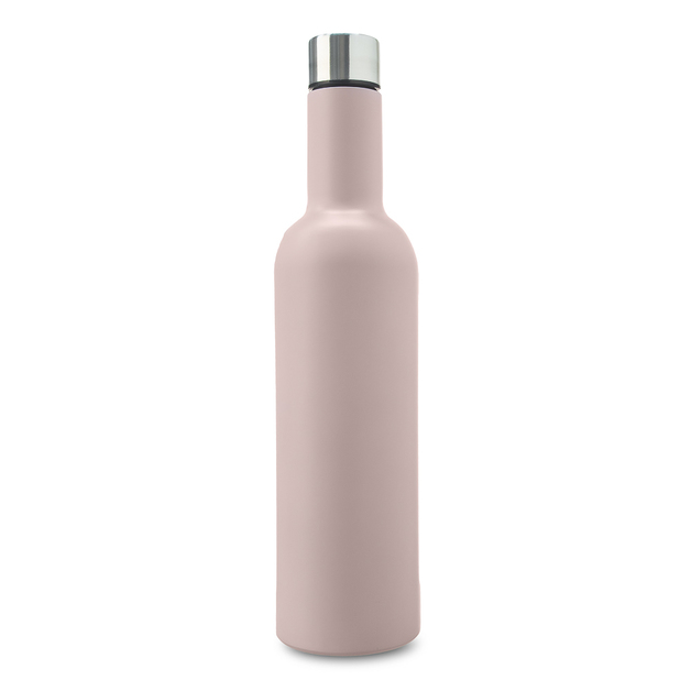 9d094872496 Annabel Trends Stainless Steel Wine Bottle - Pink | at Mighty Ape Australia