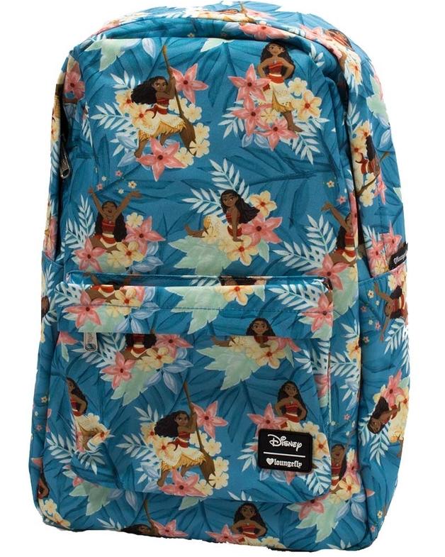 Loungefly: Moana - Flower Print Backpack