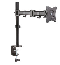 "Digitus 15-27"" Single Monitor Stand with Clamp Base"